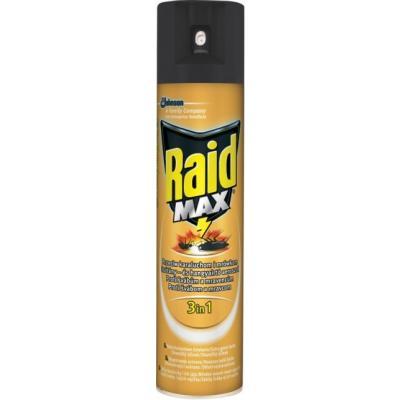 Raid Max proti švábům a mravencům 3v1 400 ml