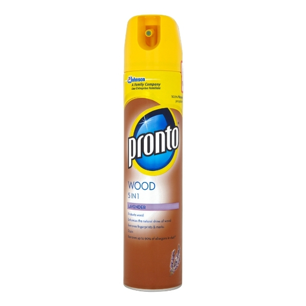 Pronto Multi surface čistič proti prachu, levandule 250 ml