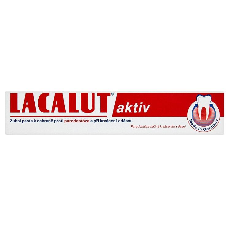 Lacalut Aktiv zubní pasta proti paradontóze 75 ml