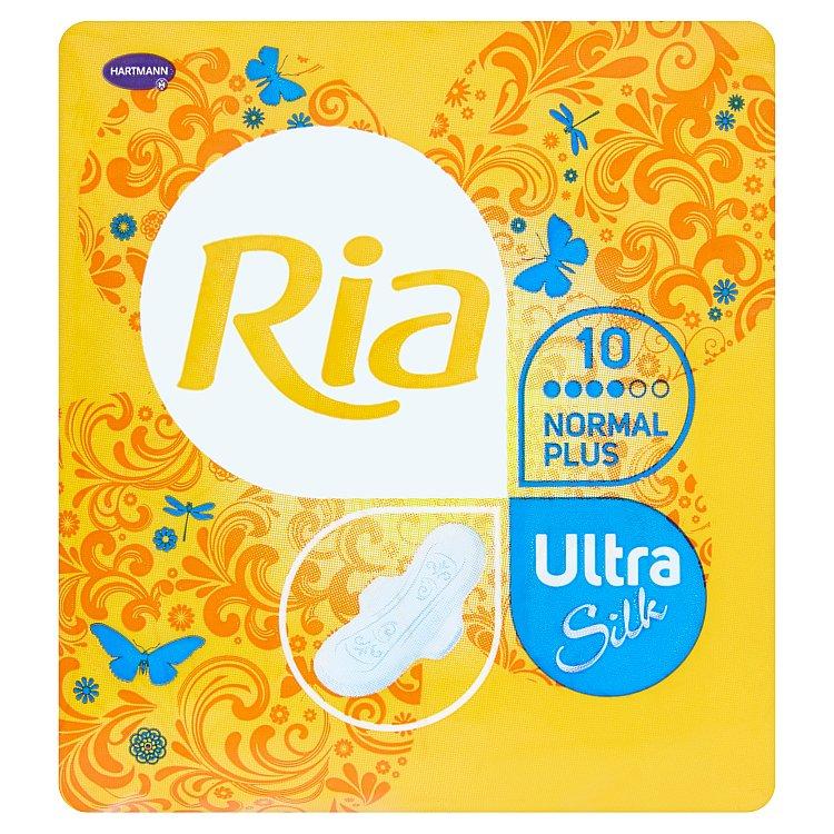 Fotografie Ria Ultra Normal plus ultratenké dámské vložky 10 ks/bal.