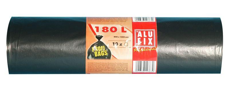 Fotografie Alufix odpadkové pytle černé, 180 l 10 ks