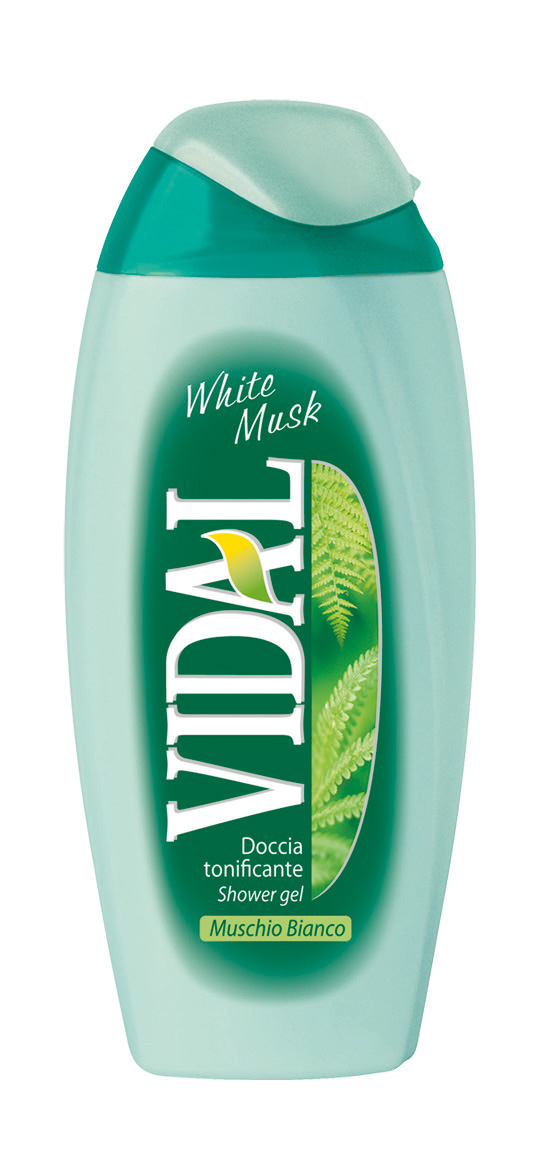 Vidal White musk sprchový gel 250 ml