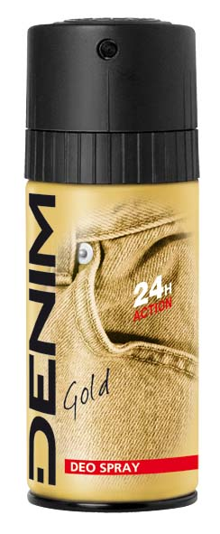 Denim Gold tělový deodorant 150 ml