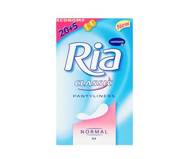 Ria Classic Normal slipové vložky 25 ks/bal.