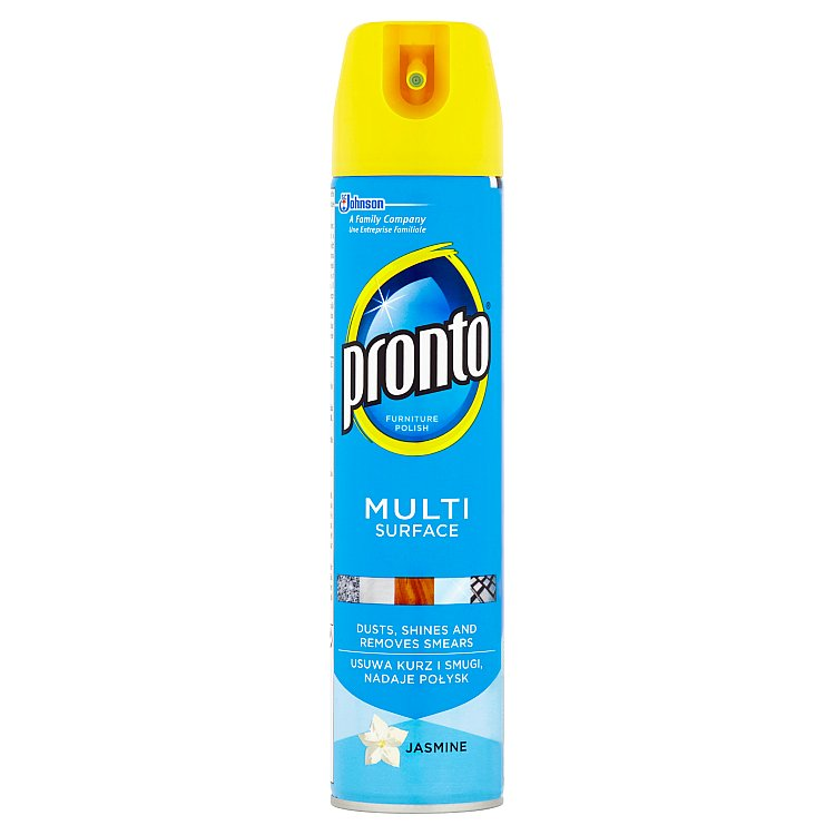 Pronto Multi surface čistič proti prachu, jasmín 250 ml