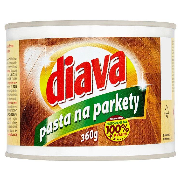 Fotografie Diava tuhá vosková pasta na parkety 360 g