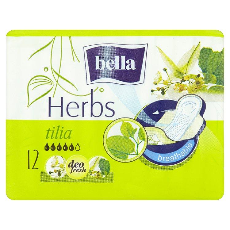 Fotografie Bella Herbs Tilia prodyšné hygienické vložky 12 ks / balení