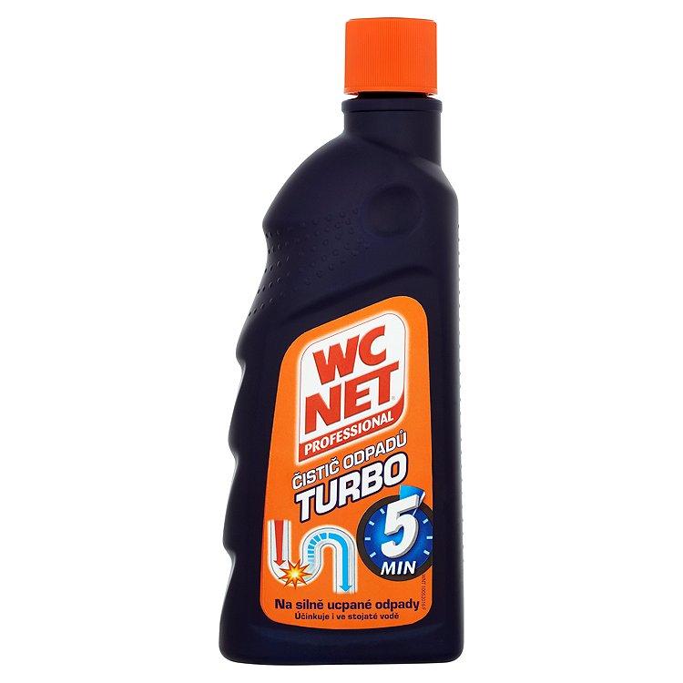 Fotografie WC Net Professional Turbo gelový čistič odpadů 500 ml