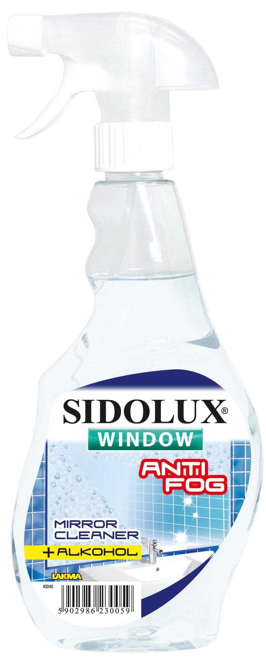 Sidolux na okna s nanotechnologií Antifog 500 ml