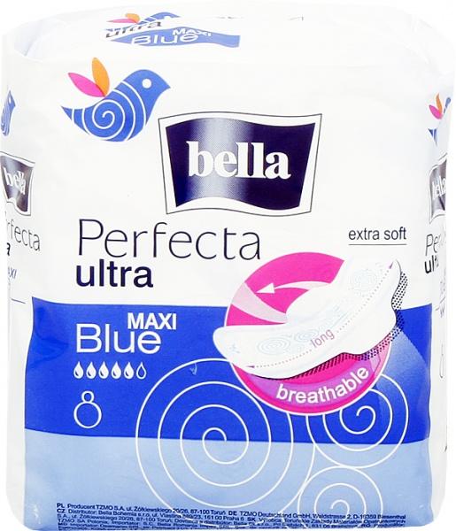 Fotografie Bella Perfecta Maxi Blue vložky 8 ks