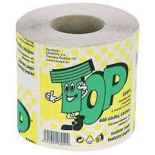 Fotografie TOP 100% recyklovaný toaletní papír, 1vrstvý 1 ks