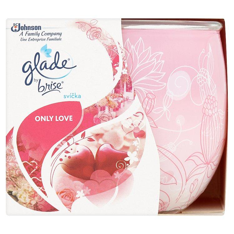 Glade by Brise Svíčka Only Love 120 g