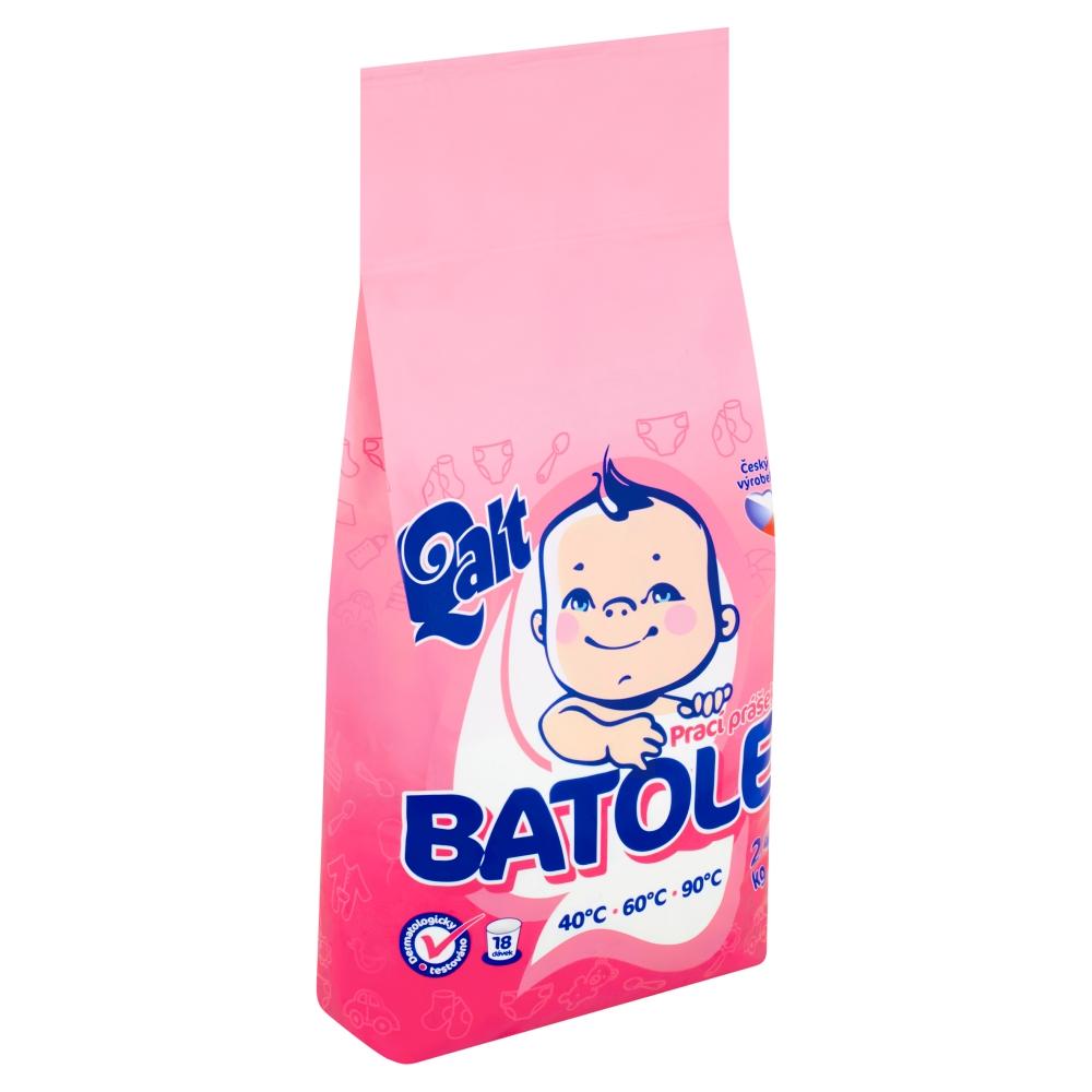 Qalt Batole prací prášek, 18 praní 2,4 kg