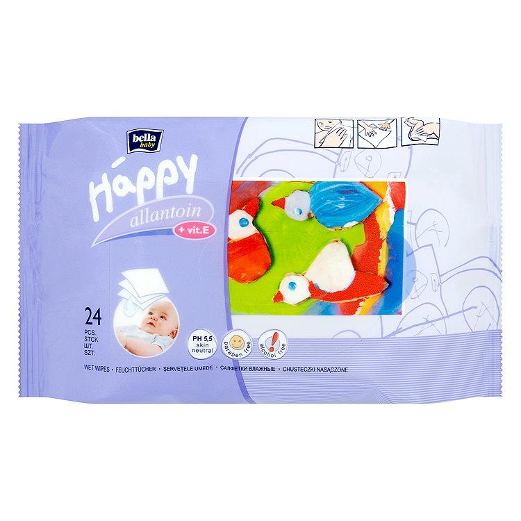 Fotografie Bella Happy Baby - čisticí ubrousky 24 ks