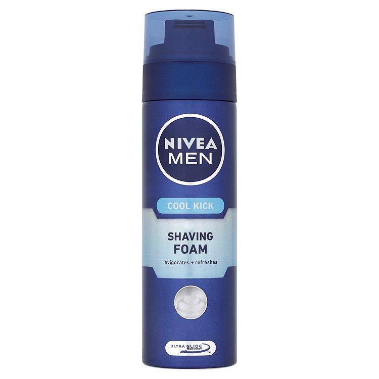 Nivea For Men Cool kick pěna na holení 200 ml