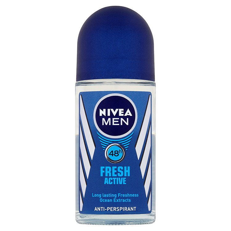 Fotografie Nivea For Men Fresh active kuličkový antiperspirant 50 ml