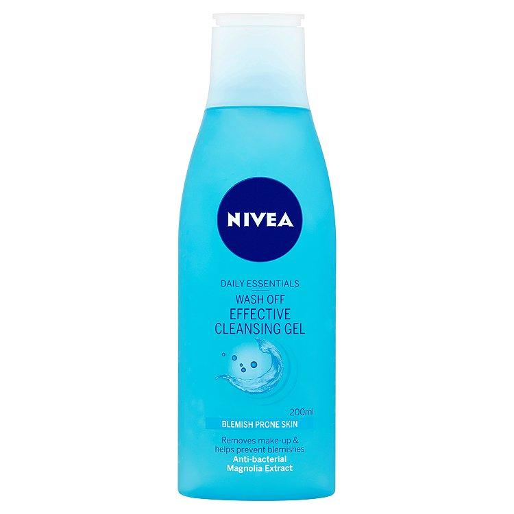 Fotografie Nivea Jemný čisticí odličovací gel (Wash-Off Make-Up Remover) 200 ml