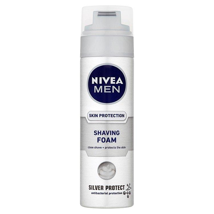 Nivea Men Silver Protect pěna na holení 200 ml