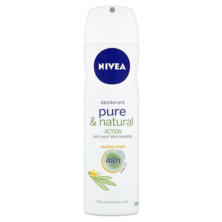 Nivea Pure & Natural Action deodorant 150 ml