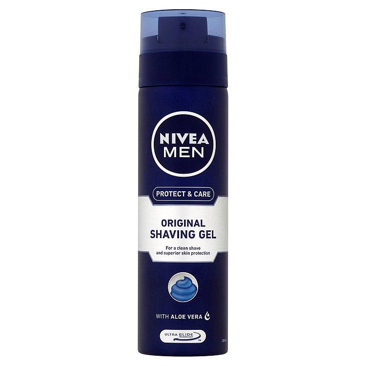 Nivea For Men Mild gel na holení 200 ml