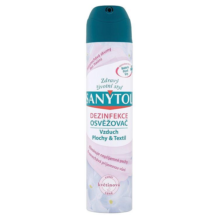 Sanytol dezinfekční osvěžovač vzduchu - květinová vůně 300 ml