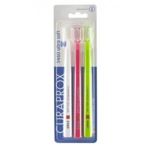 Curaprox 5460 Ultra Soft zubní kartáček - různé druhy barev 3 ks