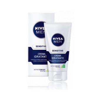 Fotografie Nivea - Men Sensitive Face Cream 75ml Pánská pleťová kosmetika M Pro podrážděnou pleť