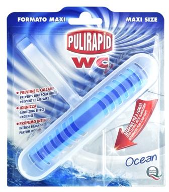 Pulirapid maxi WC blok, mořská vůně 1 ks