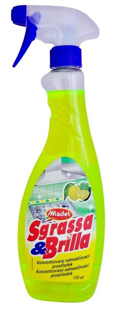 Fotografie Sgrassa e Brilla, univerzální odmašťovač a čistič 750 ml