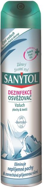 Sanytol dezinfekční osvěžovač vzduchu 300 ml, horská vůně