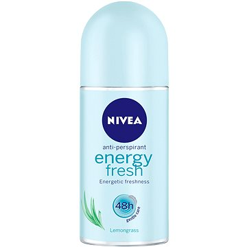 Nivea Energy fresh kuličkový antiperspirant s obsahem citronové trávy 50 ml