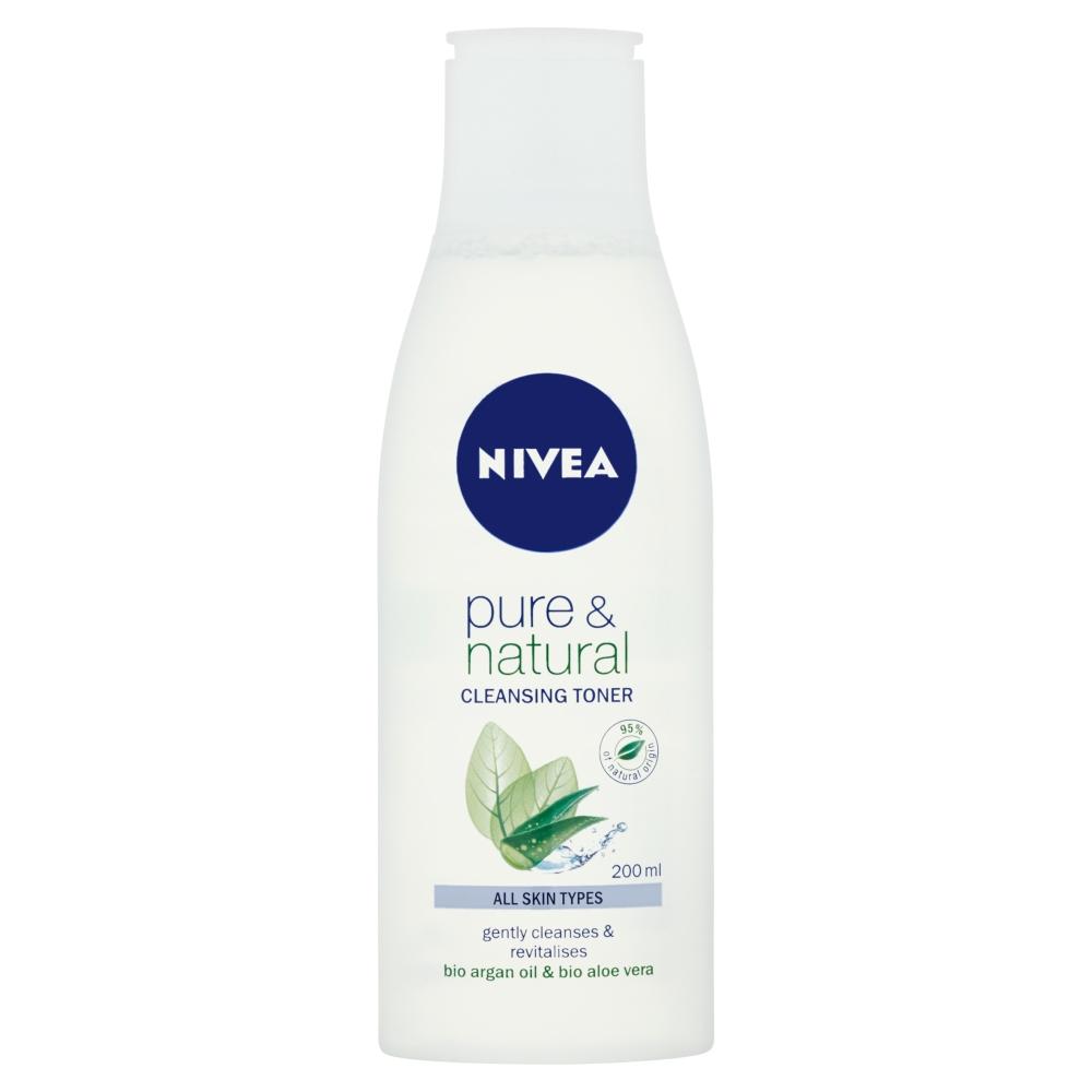 Nivea Pure & Natural čisticí pleťová voda 200 ml
