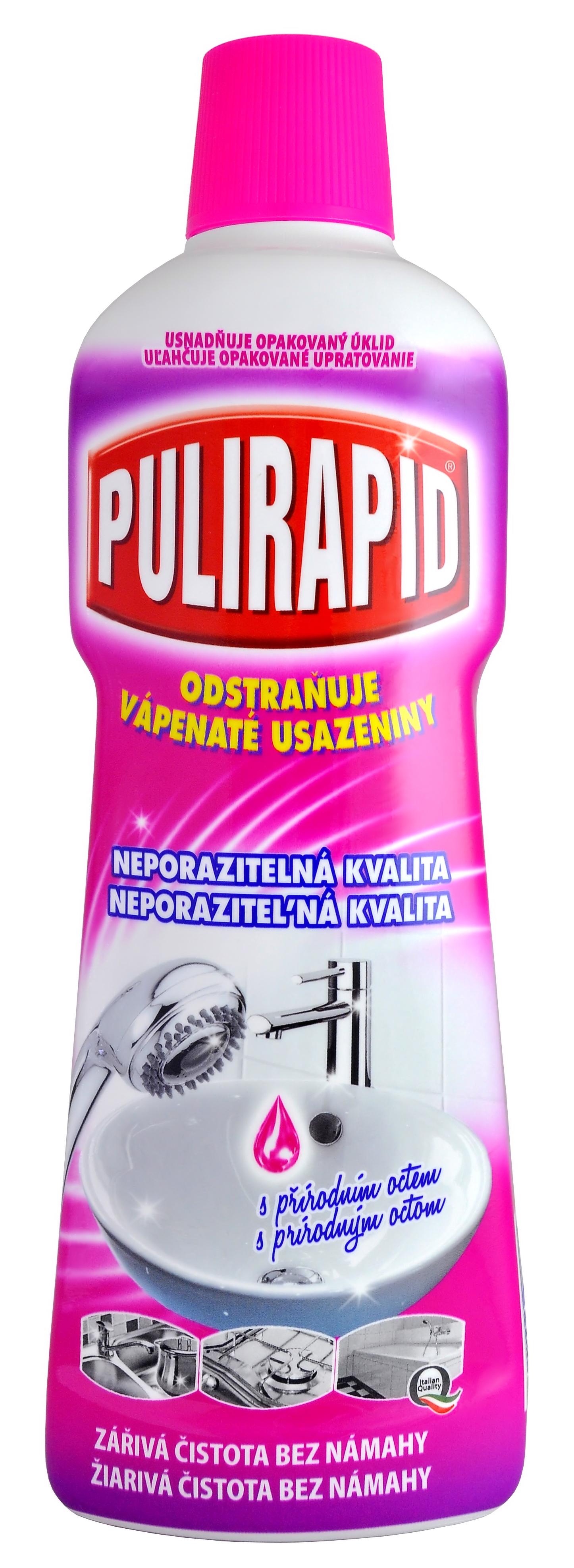 Fotografie Pulirapid Aceto na rez a vodní kámen 750 ml