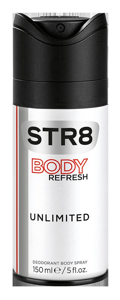 Fotografie STR8 Unlimited deodorant ve spreji 150 ml