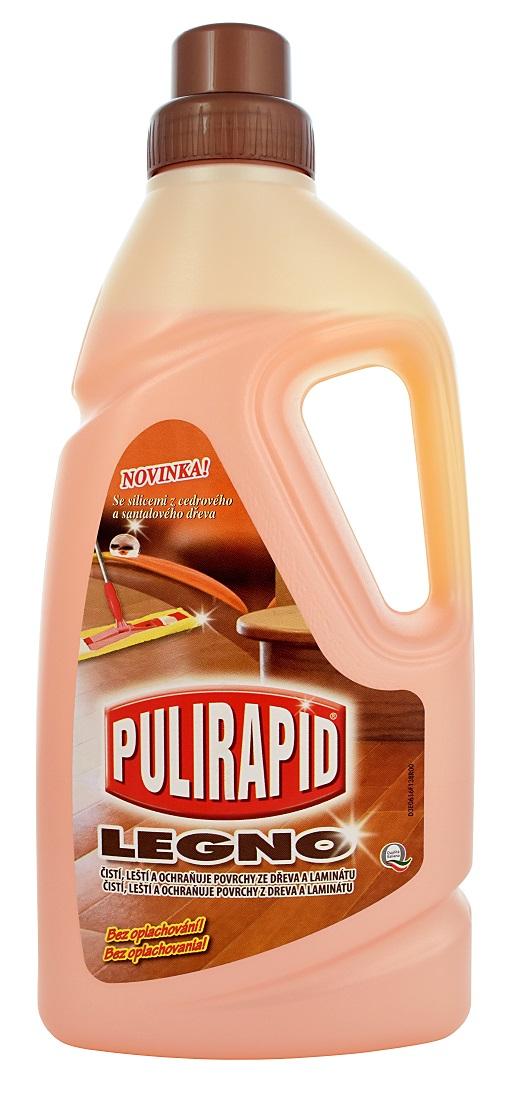 Fotografie Pulirapid Legno čistič na dřevěné plochy 1000 ml