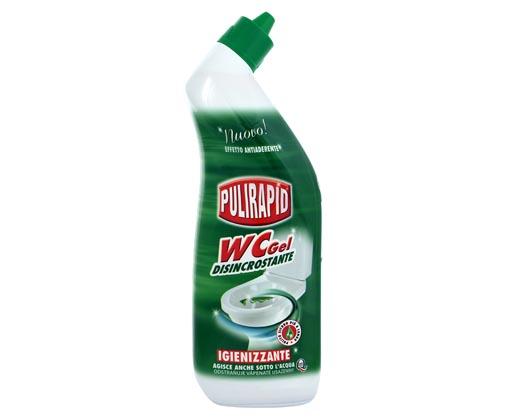 Pulirapid WC gel s mořskou vůní 750 ml