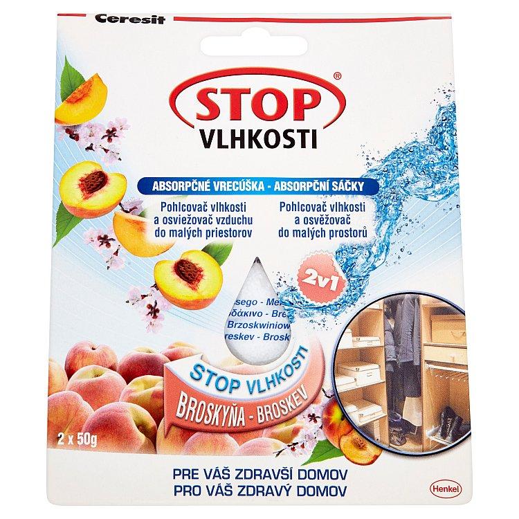 Ceresit Stop vlhkosti absorpční sáčky vanilka 2 x 50 g