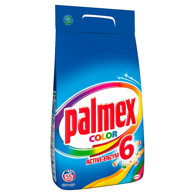 Palmex Color prací prášek, 55 praní 3,85 kg