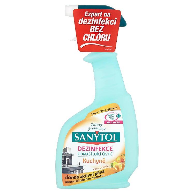 Sanytol dezinfekce kuchyně ve spreji 500 ml, s vůní citrónu