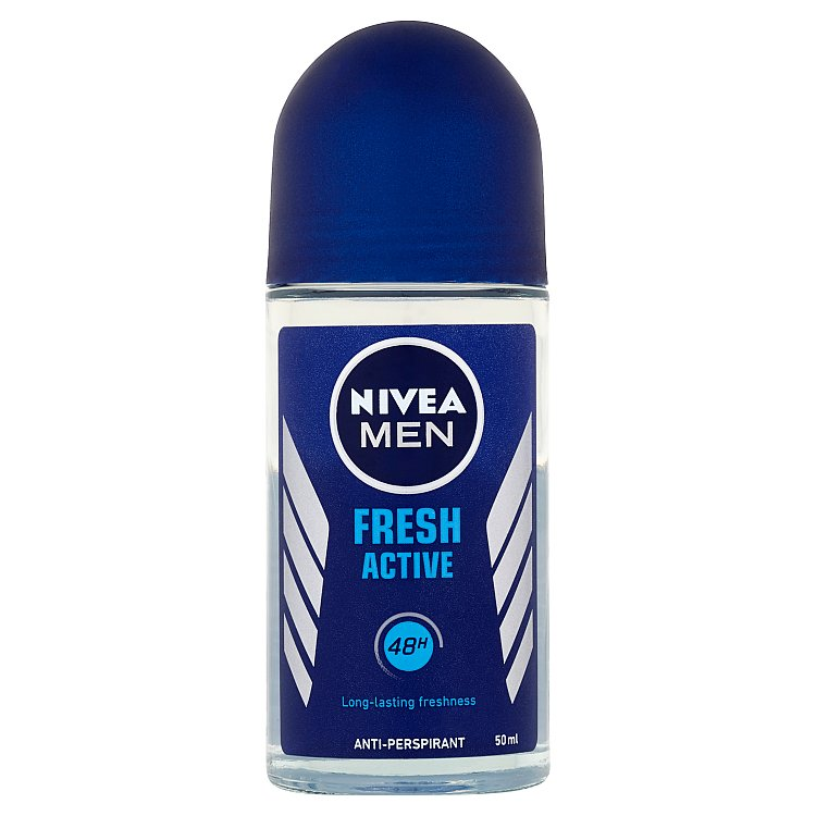Nivea For Men Fresh active kuličkový antiperspirant 50 ml