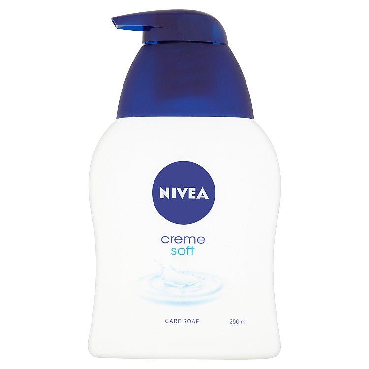 Nivea Creme soft krémové tekuté mýdlo na ruce 250 ml