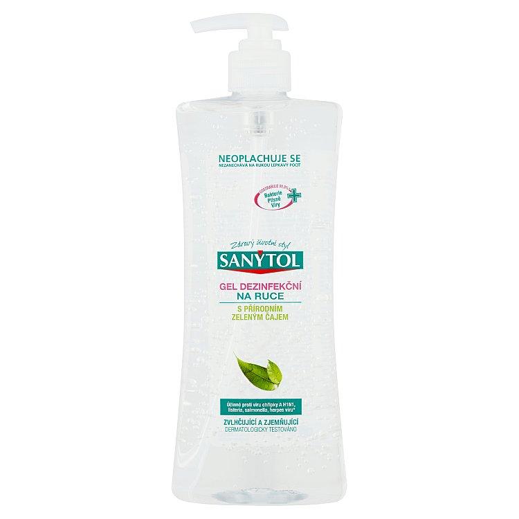 SANYTOL dezinfekční gel na ruce 500 ml