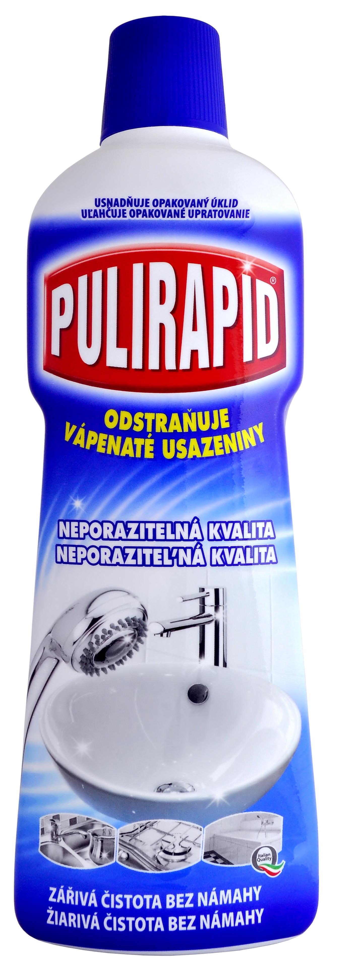 Pulirapid přípravek na rez a vodní kámen 750 ml