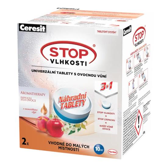 Ceresit Stop Vlhkosti Univerzální tablety s ovocnou vůní 2 x 300 g