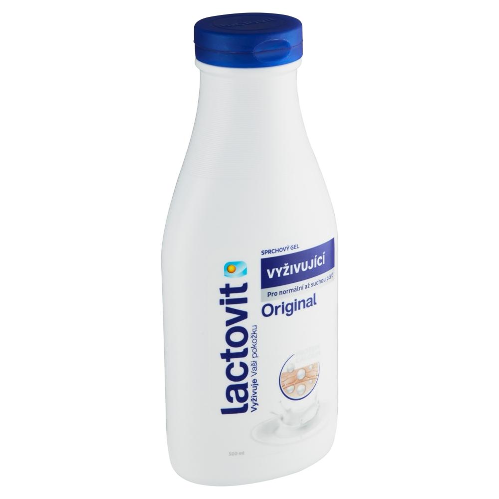 Lactovit Original vyživující sprchový gel 500 ml