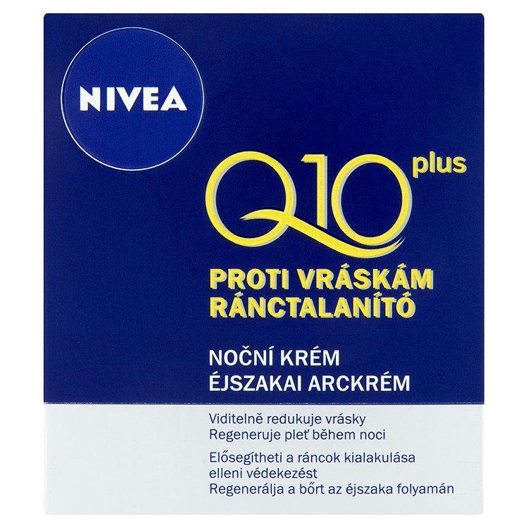 Fotografie Nivea Q10 Plus noční krém proti vráskám 50 ml