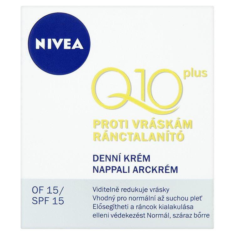 Nivea Q10 Plus denní krém proti vráskám 50 ml