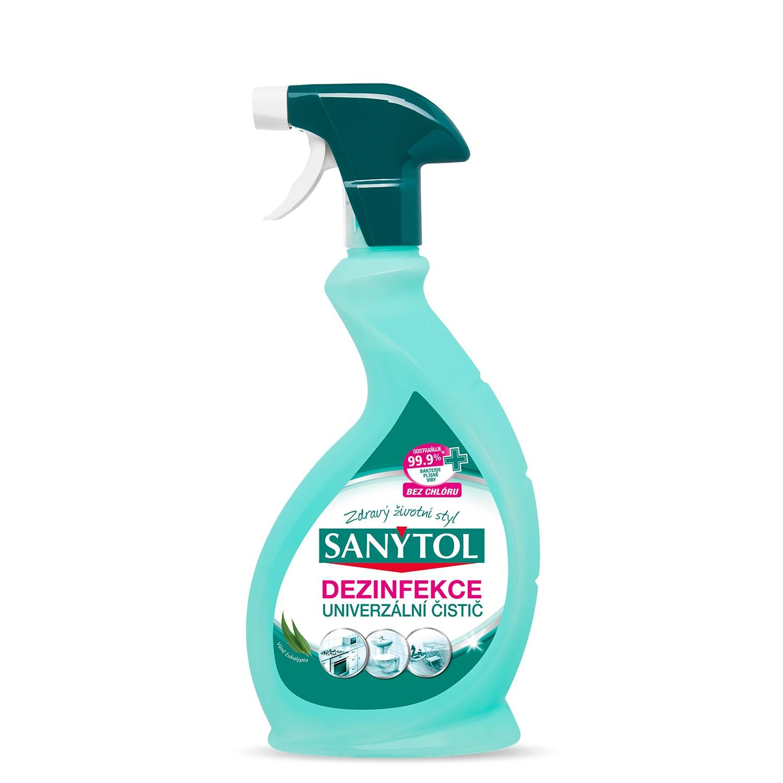 Sanytol univerzální dezinfekce na všechny povrchy s vůní eukalyptu 500 ml