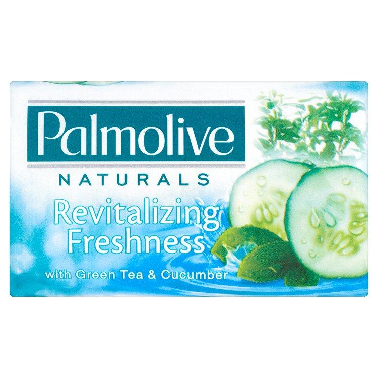 Fotografie Palmolive Naturals Revitalizing Freshness Tuhé mýdlo 90 g