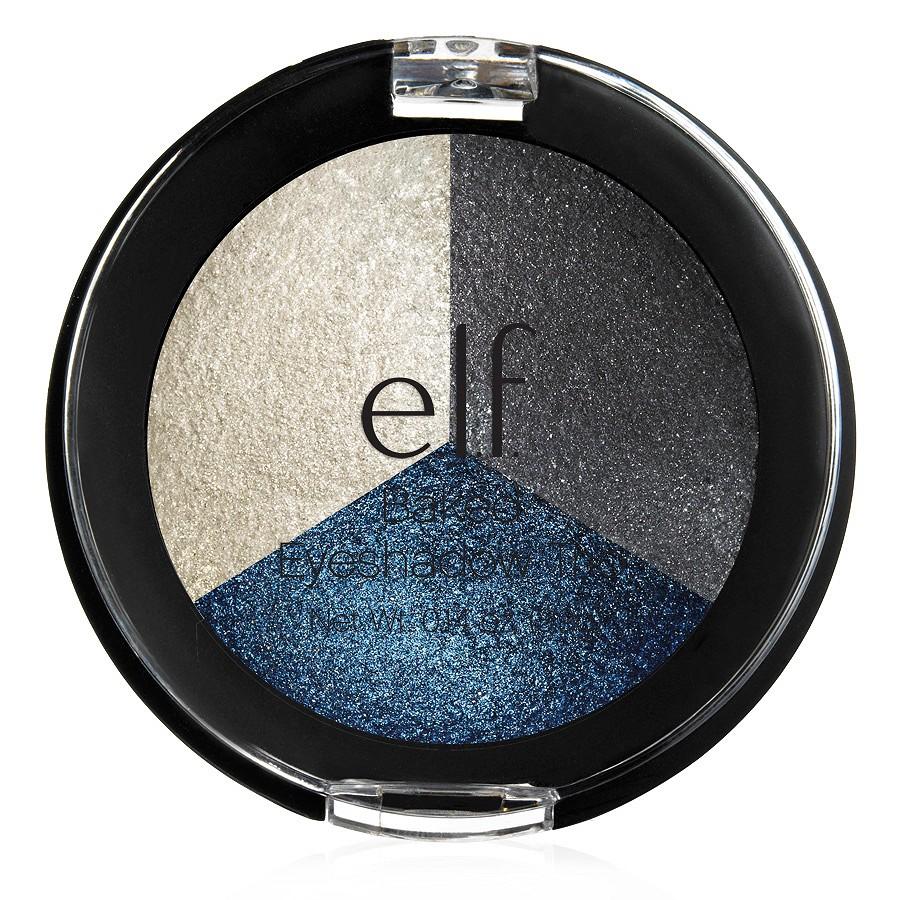 E.l.f. Studio Zapečené stíny TRIO Smoky Sea 3,9 g